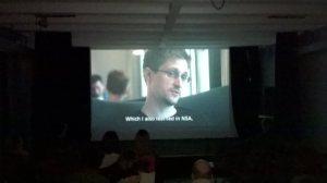 Projekcija filma Citizenfour (2014) u SKC Kragujevac 6. mart 2015.